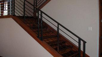 Contemporary Stair Railing