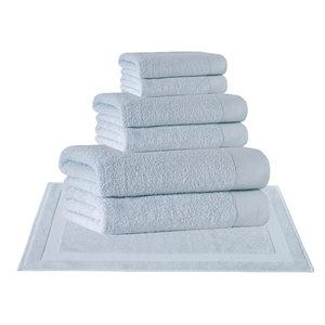 Signature 8-Piece Towel Set, Water Fall
