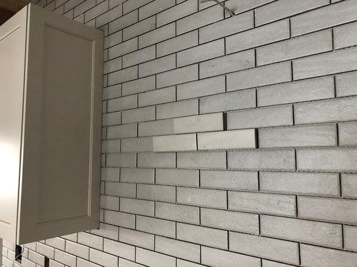 Beware American Olean Bricktown Arctic Bend Tile