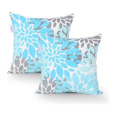 Cherry Modern Throw Pillow Cover, Set of 2