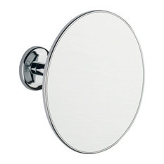 BA Wall Mounted Adjustable Round 2X Cosmetic Makeup Magnifying Mirror, Brass