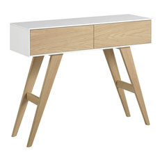 Pauline Oak Console Table