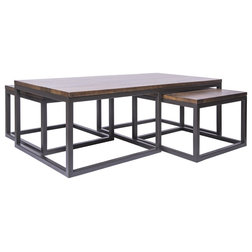 Industrial Coffee Table Sets by Houzz