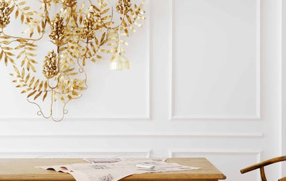 Get Glowing With Gilded Decor