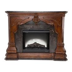 AICO Michael Amini Tuscano Melange Fireplace