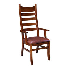Palettes by Winesburg Royal Heritage 5-Slat Arm Chair - Set of 2 by Palettes