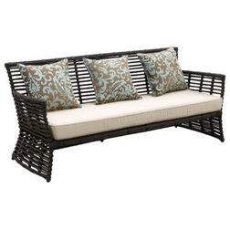 Superb Tropical Outdoor Sofas by Sunset West Outdoor Furniture