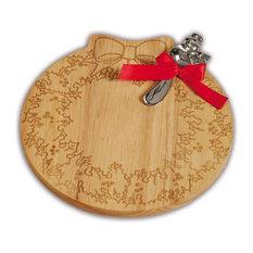Wreath Cheese Board, Wood