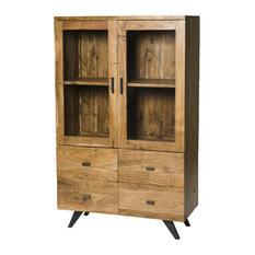 Augusta Industrial 2-Door Display Cabinet