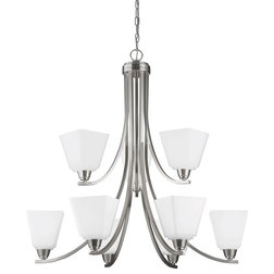 Spectacular Transitional Chandeliers by Sea Gull Lighting