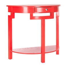 Safavieh Liana Console Table Hot Red