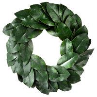 """24"""" Deluxe Magnolia Leaf Wreath"""