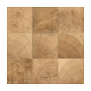 """8""""x8"""" Hard Maple Field Tiles, Natural Finish, Set of 24"""