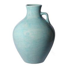 Pool Blue Ceramic Jug, Large