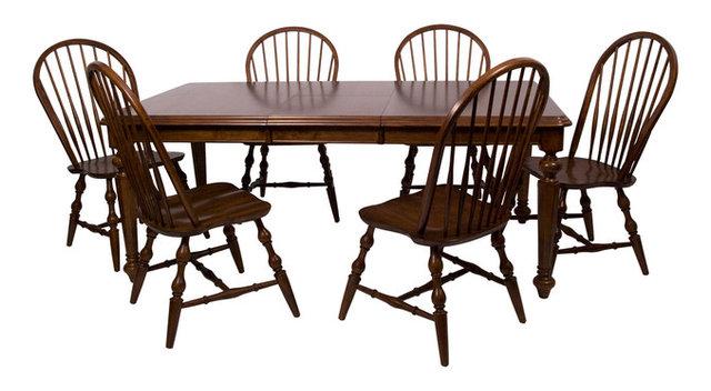 Chichester 7 Piece Dining Set, Chestnut