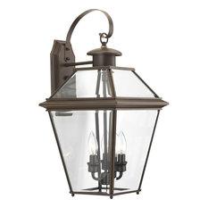 Burlington 3-Light Large Wall Lantern, Antique Bronze