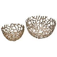 Nest Decorative Bowl, Silver