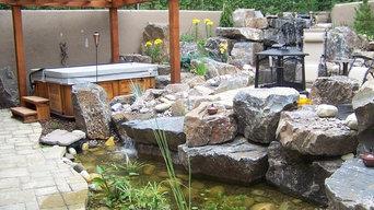 Springbank-sunken garden