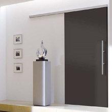 BLACK DOORS - SLIDING BLACK DOORS - ANTHRACITE FIRE DOORS
