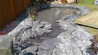 Small Koi Pond - Natural Slate