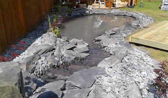 Small Koi Pond - Natural Slate