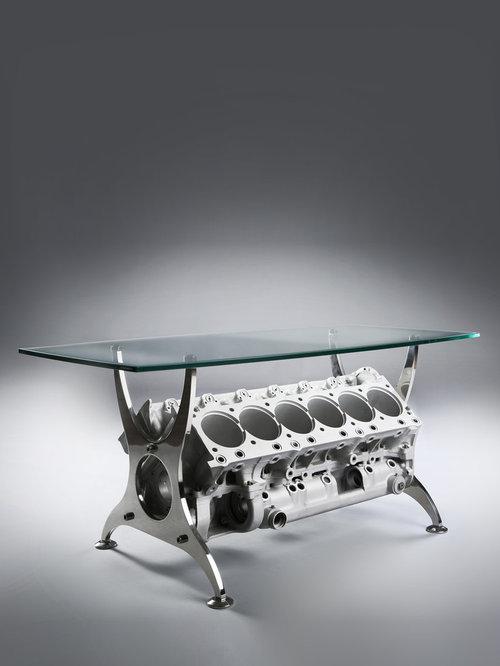 Lotus F Engine Coffee Table - Motor coffee table