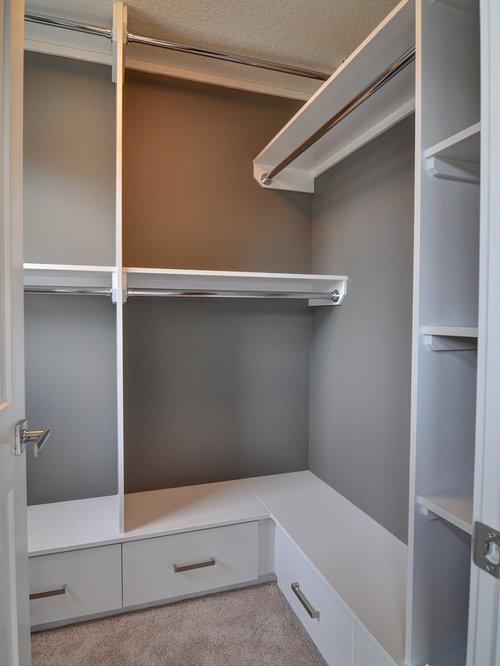 Foto e idee per cabine armadio piccole cabine armadio - Closet design for small spaces design ...