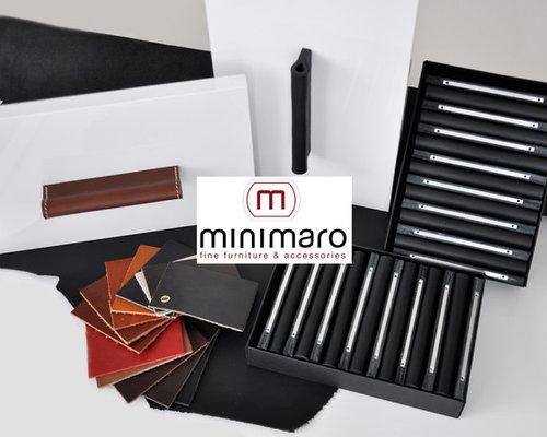 Ledergriffe Für Möbel   Modell MILANO PURE