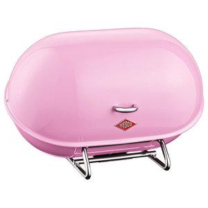 Wesco Single Breadboy Bread Bin, Pink