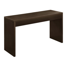 Contemporary Hall Table contemporary espresso console tables | houzz