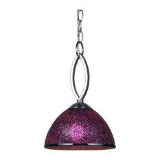 Alexis Mini Pendant Mosaic Purple