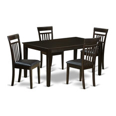 5-Piece Dining Room Set For 4 Dining Table Top And 4 Dining Chairs