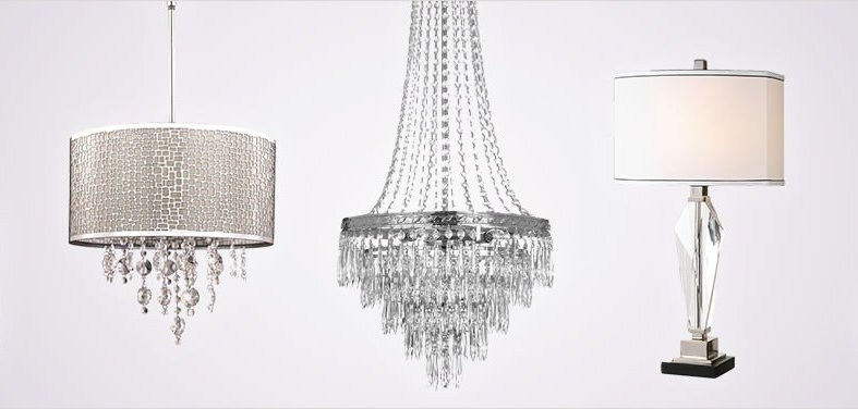 With fixtures for every space this collection of shimmering glass and crystal lighting has something inspiring for your home