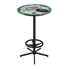 Vancouver Canucks Pub Table 36-inch by Holland Bar Stool Company