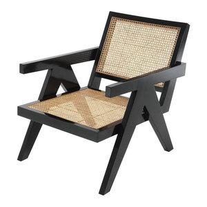 Black Chair | Eichholtz Adagio, black, 23