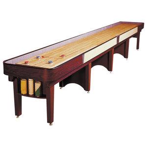 Ambassador Shuffleboard Table by Venture Games, 12'