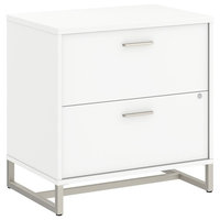 Bush Business Furniture Method by Kathy Ireland Lateral File Cabinet in White