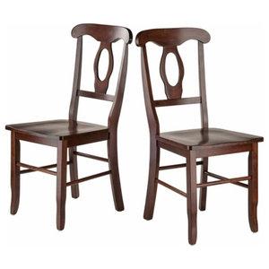 RenaissanceKey Hole Back Chairs, Set of 2