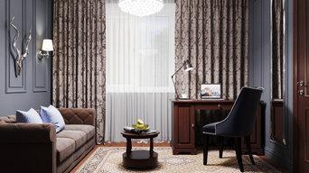 Рабочий кабинет  (гостевая комната)