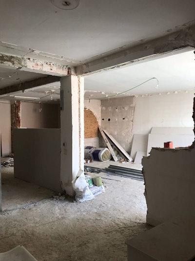 Antes y después: Enorme piso en Vitoria con nuevas texturas