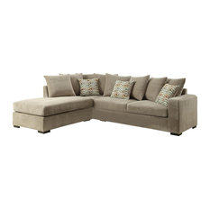 Coaster Home Furnishings - Coaster Olson Reversible Sectional, Beige - Sectional Sofas