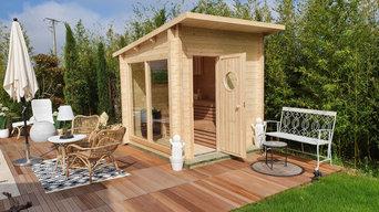 Installation d'un sauna extérieur