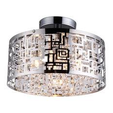 bromi design metropolitan crystals flush mount light round flush mount ceiling lighting beach style balcony helius lighting group