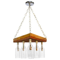 Spectacular Contemporary Chandeliers by Wine Country Craftsman