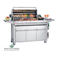 BeefEater SL4000S Deluxe Series - 6 Burner Stainless Steel Gas BBQ