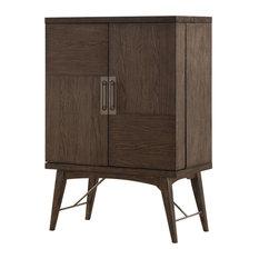 Emerald Home Millenium Bar Cabinet