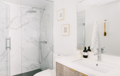 Before and After: 4 Bathrooms Open Up With Clear Glass Showers