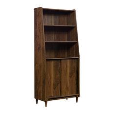 Sauder Harvey Park 3 Shelf Bookcase in Grand Walnut