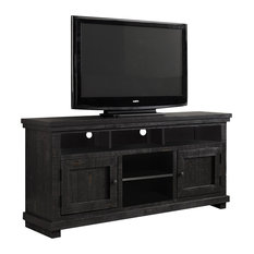 Willow Console - Distressed Black