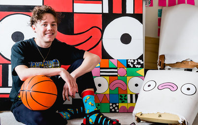 Creatives at Home: Nathan Nankervis in His Colourful Studio